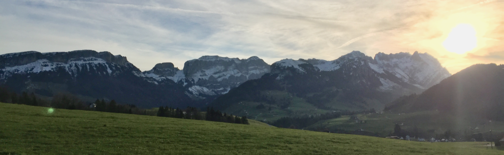Mountains in Appenzell