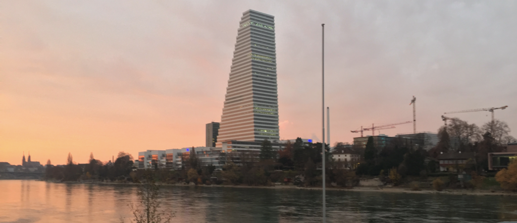 the tallest building in Switzerland